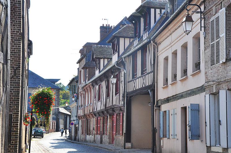 Photo du Monument Historique Manoir Quiquengrogne situé à Honfleur