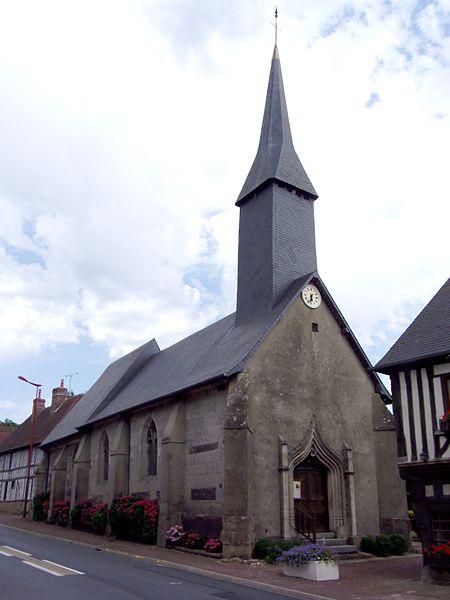 Photo du Monument Historique Eglise situé à L'Hôtellerie