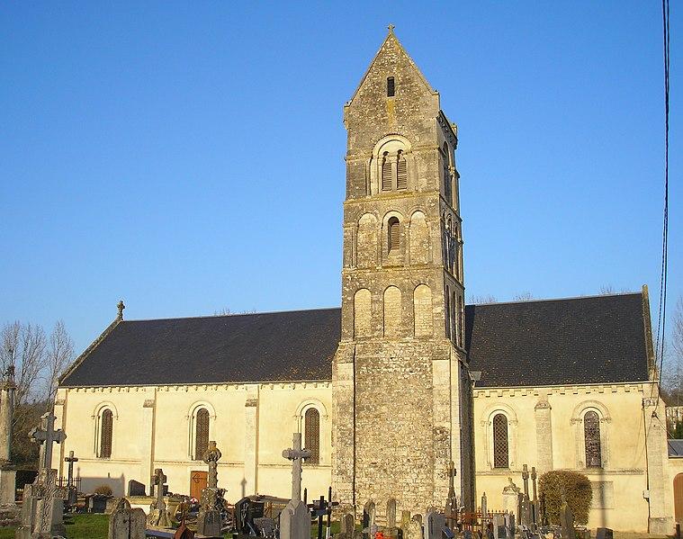 Photo du Monument Historique Eglise de Longraye situé à Hottot-les-Bagues