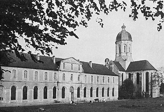 Photo du Monument Historique Abbaye Saint-Martin de Mondaye situé à Juaye-Mondaye