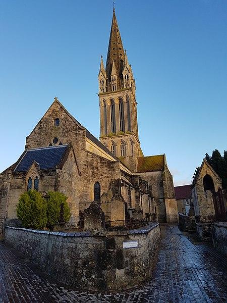 Photo du Monument Historique Eglise situé à Langrune-sur-Mer