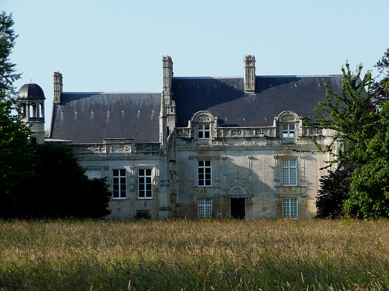 Photo du Monument Historique Château et ses dépendances situé à Lasson