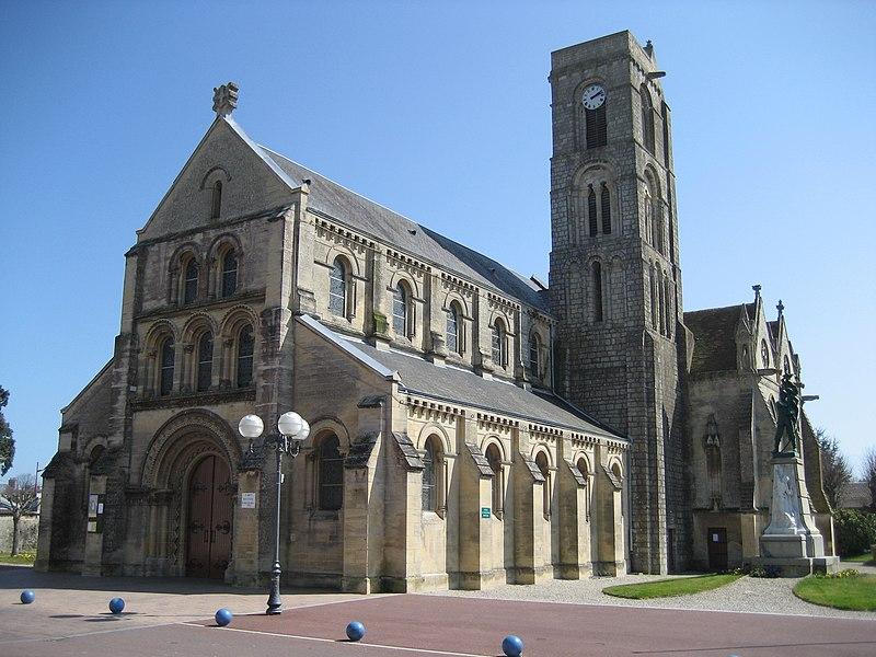 Photo du Monument Historique Eglise situé à Lion-sur-Mer