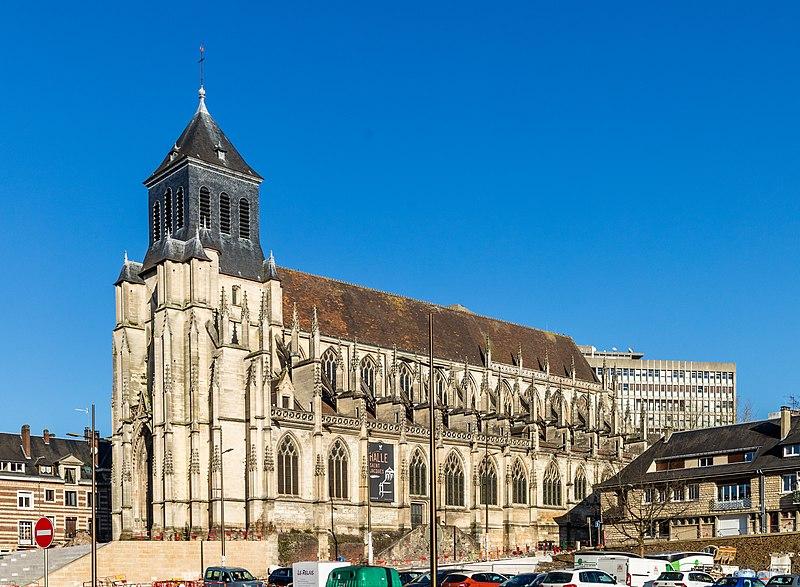 Photo du Monument Historique Eglise Saint-Jacques situé à Lisieux