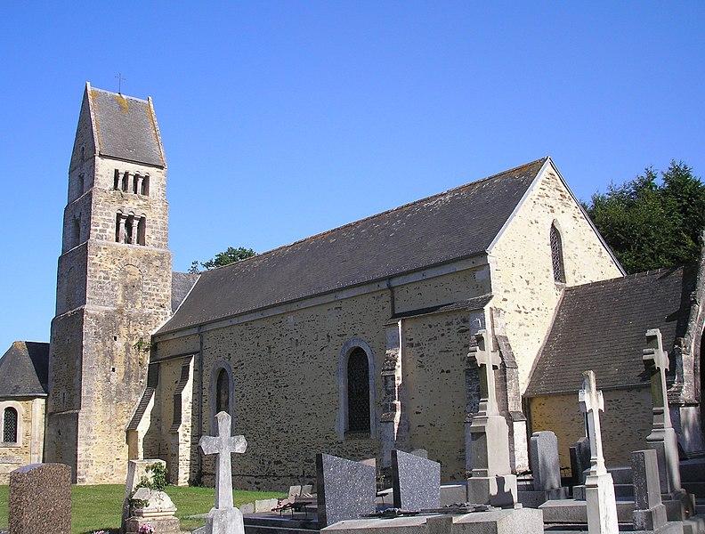Photo du Monument Historique Eglise de Parfouru-l'Eclin situé à Livry
