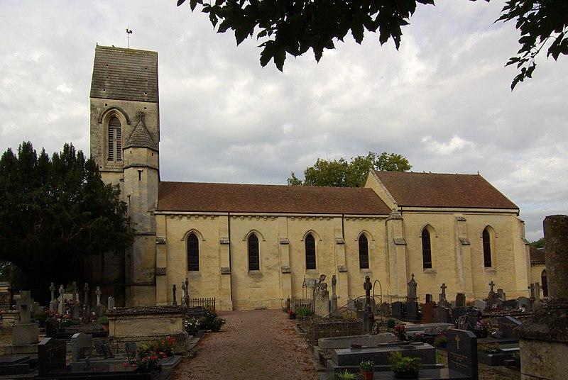 Photo du Monument Historique Eglise situé à Louvigny
