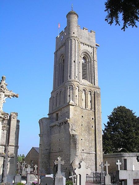 Photo du Monument Historique Ancienne église situé à Luc-sur-Mer