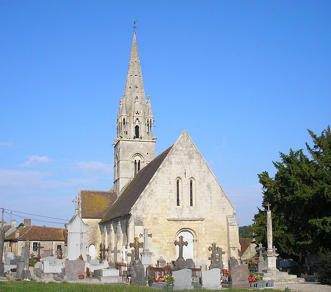 Photo du Monument Historique Eglise situé à Maizières