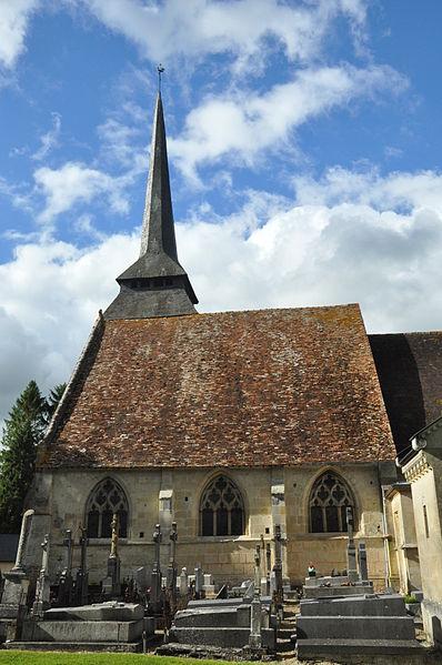 Photo du Monument Historique Eglise situé à Manerbe
