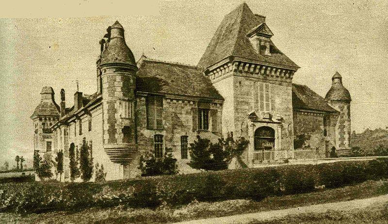 Photo du Monument Historique Château situé à Le Mesnil-Guillaume