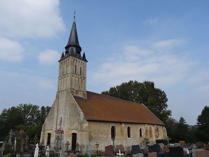 Photo du Monument Historique Eglise situé à Le Mesnil-Mauger