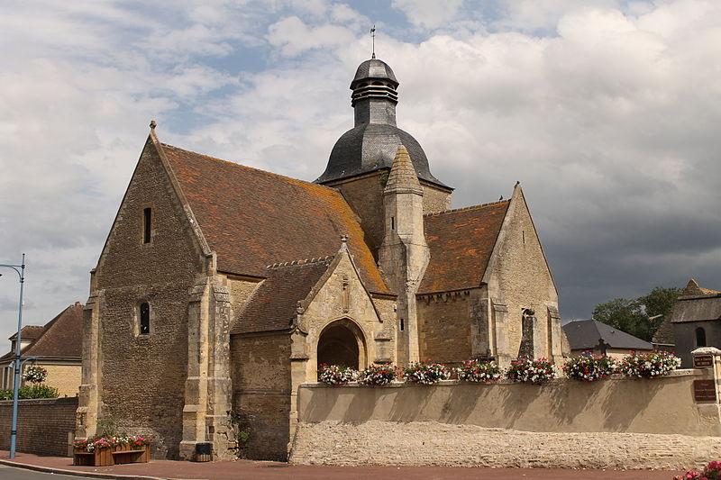 Photo du Monument Historique Eglise du Breuil situé à Mézidon-Canon
