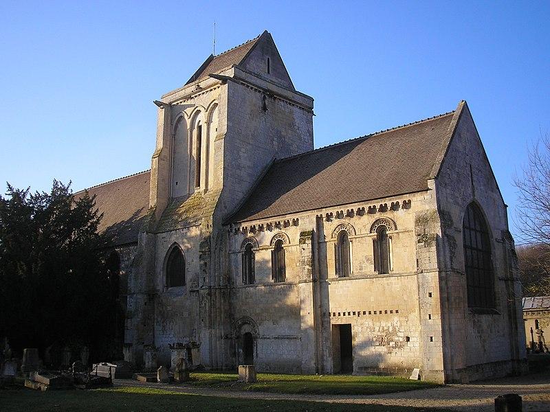 Photo du Monument Historique Vieille église Notre-Dame-des-Prés situé à Mondeville