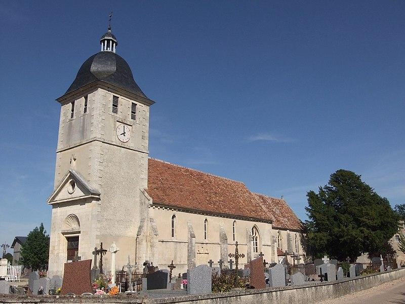 Photo du Monument Historique Eglise de Morteaux situé à Morteaux-Couliboeuf