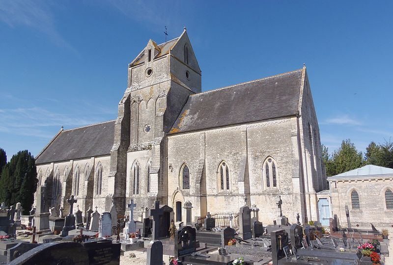 Photo du Monument Historique Eglise situé à Mosles