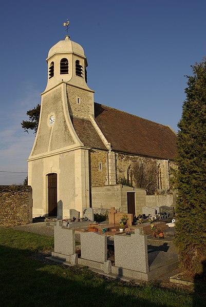 Photo du Monument Historique Eglise situé à Mutrécy