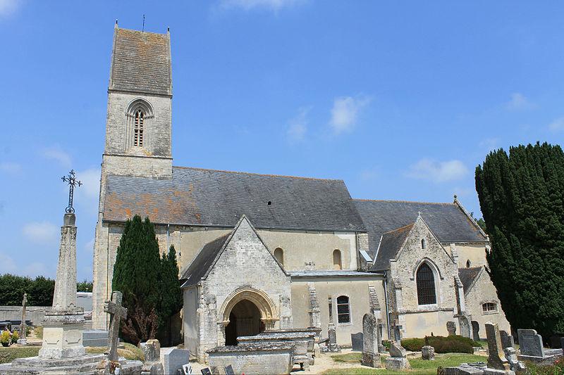 Photo du Monument Historique Eglise situé à Nonant