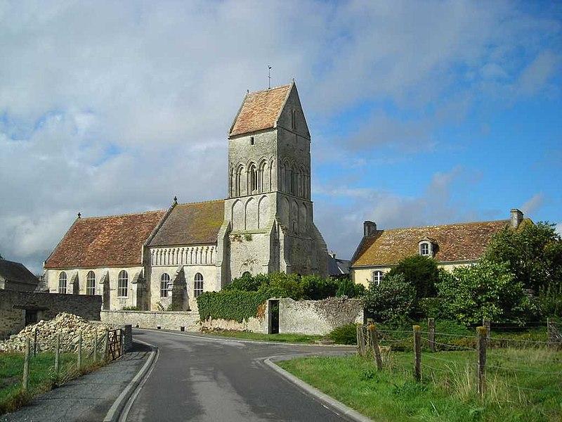 Photo du Monument Historique Eglise situé à Noron-l'Abbaye