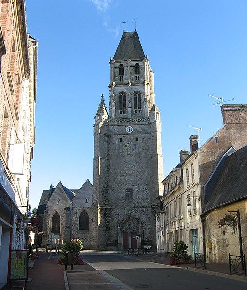 Photo du Monument Historique Eglise Notre-Dame situé à Orbec