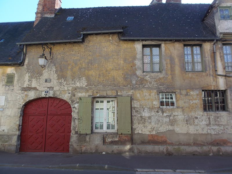 Photo du Monument Historique Hôtel de Croisy situé à Orbec
