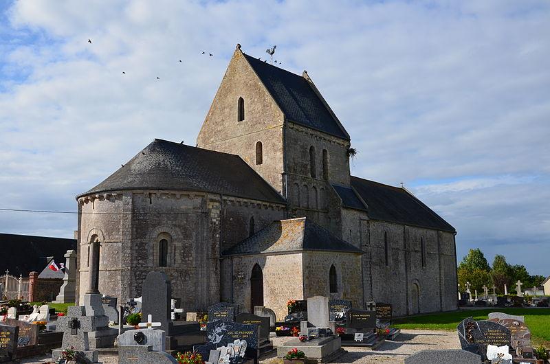 Photo du Monument Historique Eglise situé à Osmanville