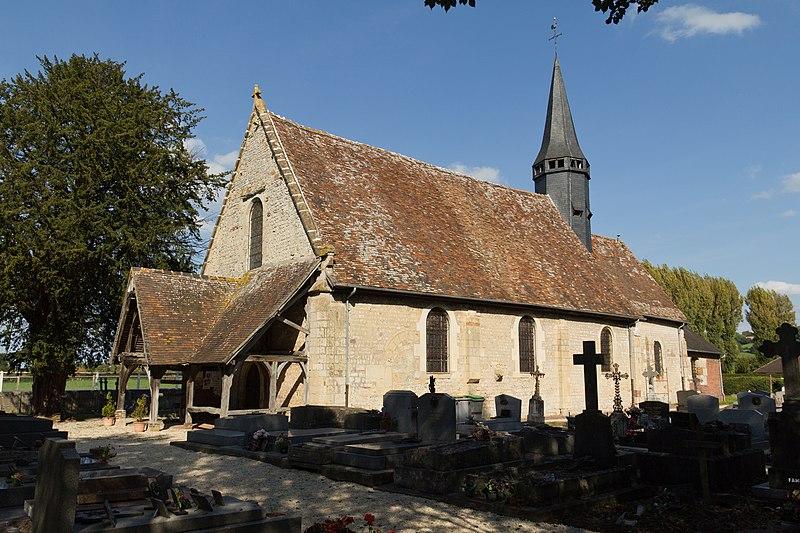 Photo du Monument Historique Eglise situé à Ouilly-le-Vicomte