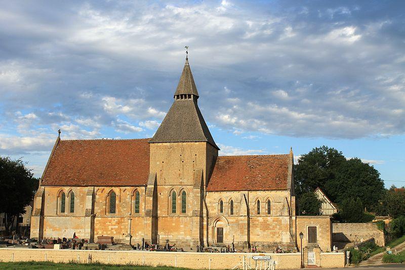 Photo du Monument Historique Eglise situé à Ouville-la-Bien-Tournée