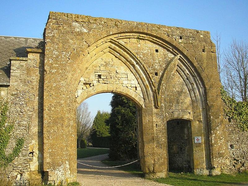 Photo du Monument Historique Ancienne abbaye situé à Le Plessis-Grimoult