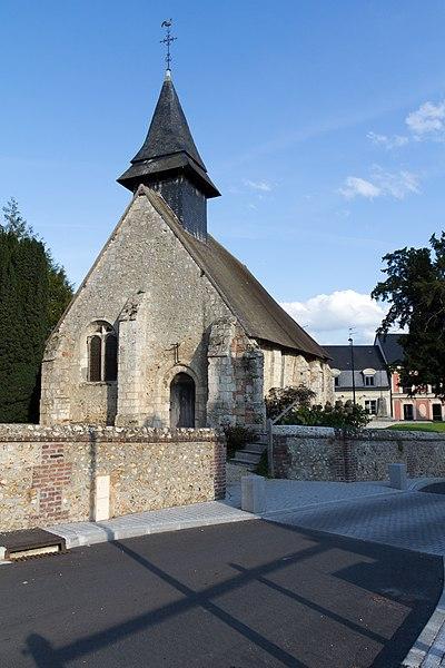 Photo du Monument Historique Eglise Saint-Melaine situé à Pont-l'Evêque