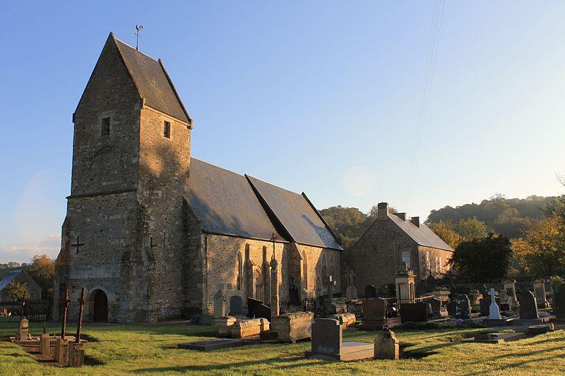Photo du Monument Historique Eglise situé à Préaux-Bocage