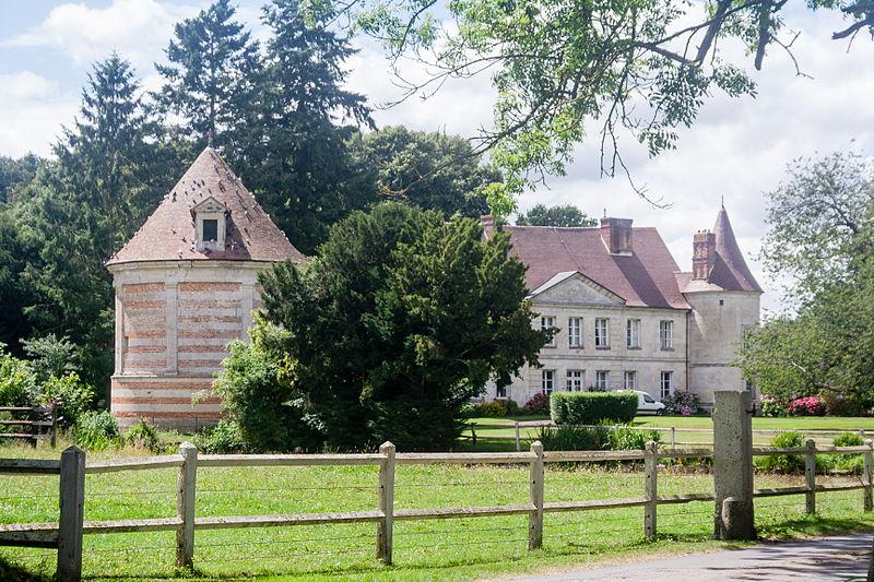 Photo du Monument Historique Château situé à Préaux-Saint-Sébastien