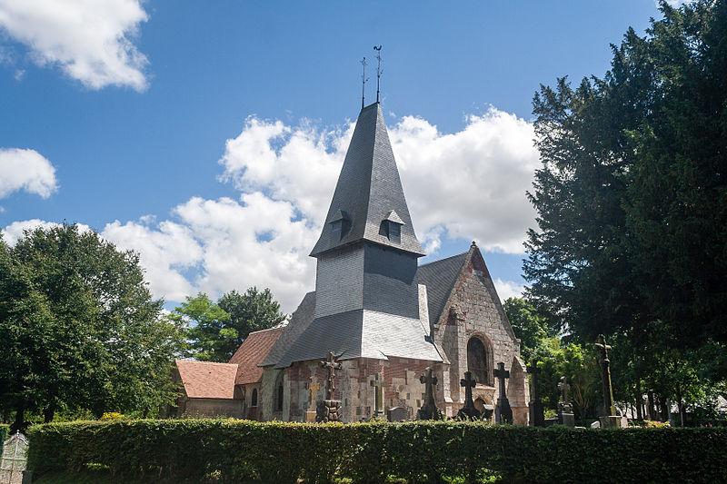 Photo du Monument Historique Eglise situé à Préaux-Saint-Sébastien