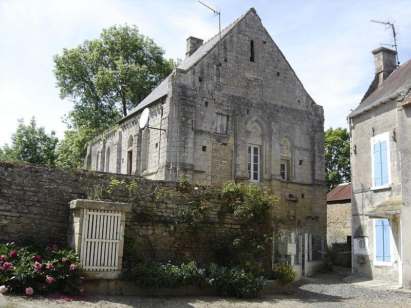 Photo du Monument Historique Ancienne chapelle Sainte-Christine situé à Reviers