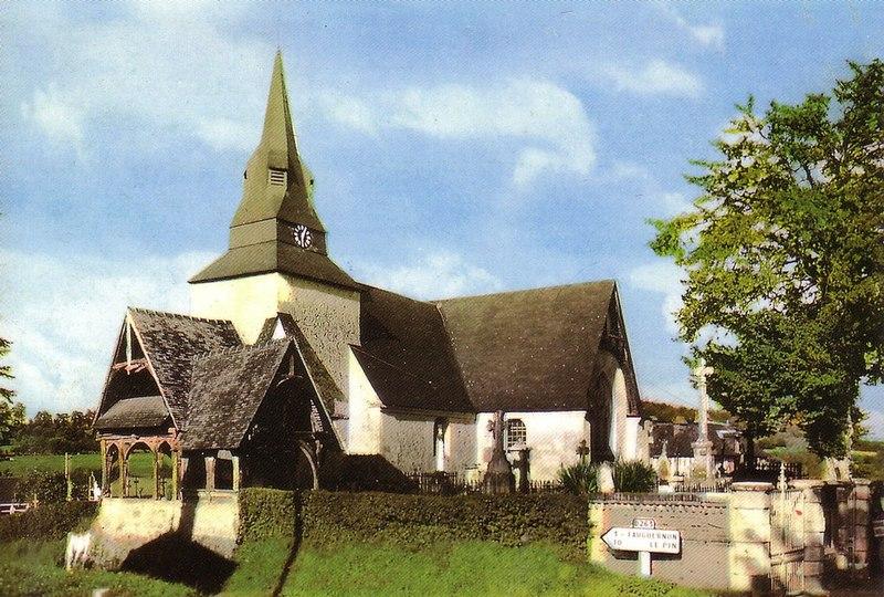 Photo du Monument Historique Eglise situé à Rocques