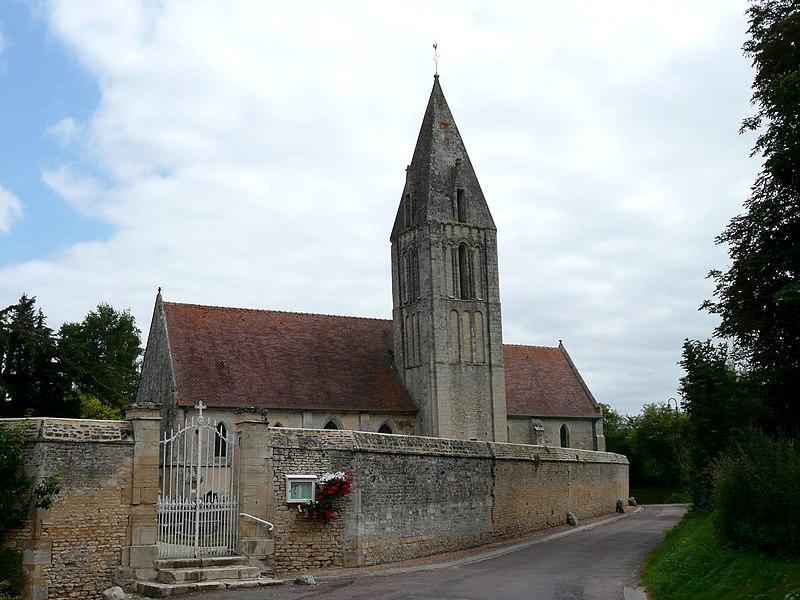 Photo du Monument Historique Eglise Saint-Martin£ situé à Rosel