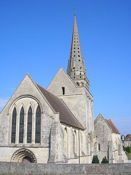 Photo du Monument Historique Eglise situé à Rouvres