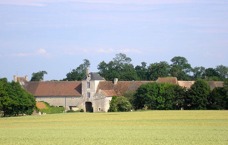 Photo du Monument Historique Grande ferme dite Logis de Rouvres situé à Rouvres
