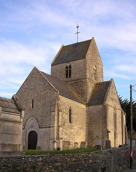 Photo du Monument Historique Eglise situé à Rucqueville