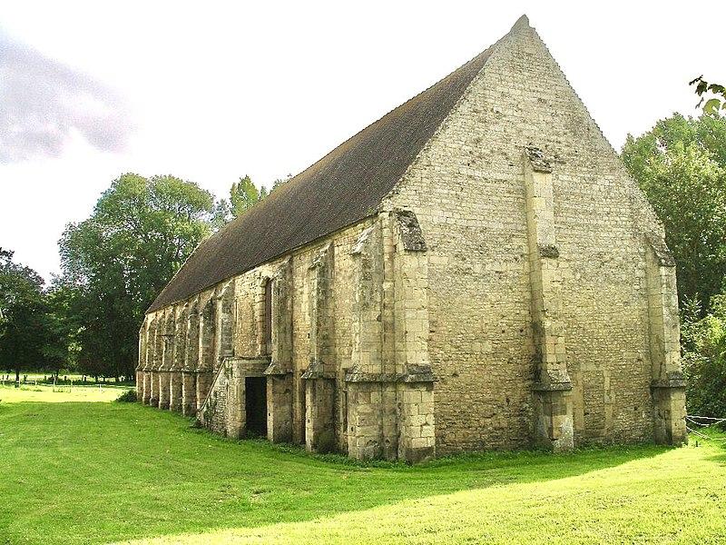 Photo du Monument Historique Ancienne abbaye Saint-Etienne-de-Fontenay situé à Saint-André-sur-Orne