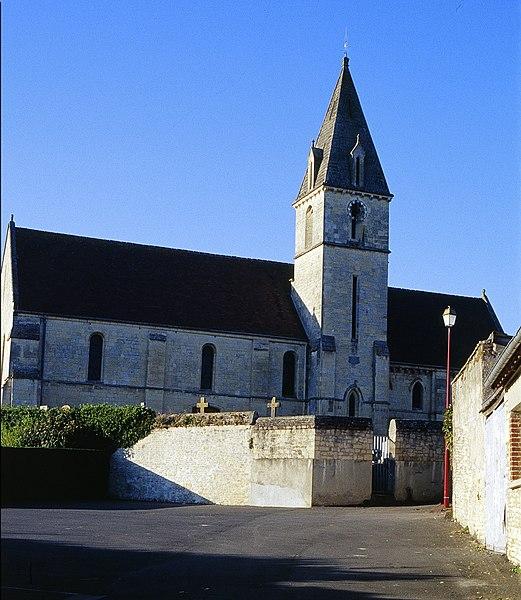 Photo du Monument Historique Eglise situé à Saint-André-sur-Orne