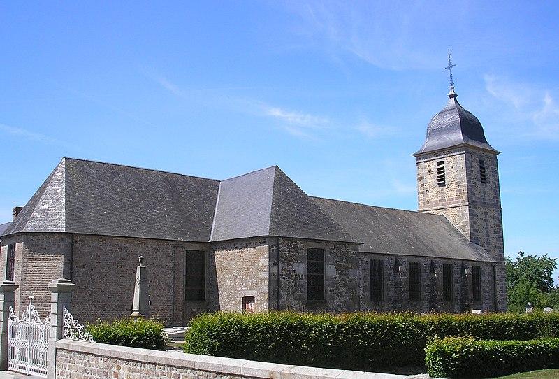 Photo du Monument Historique Eglise Saint-Charles situé à Saint-Charles-de-Percy