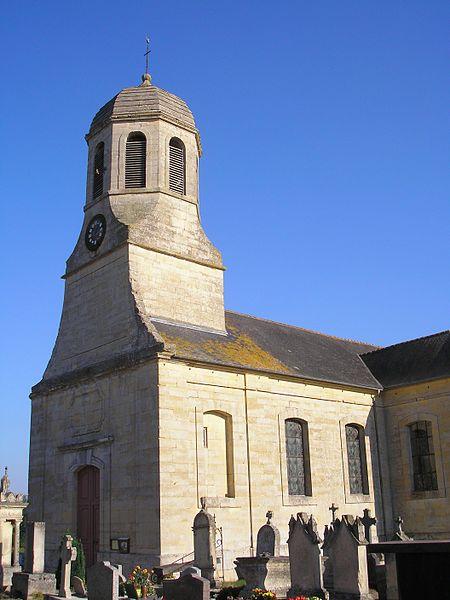 Photo du Monument Historique Eglise situé à Sainte-Croix-Grand-Tonne