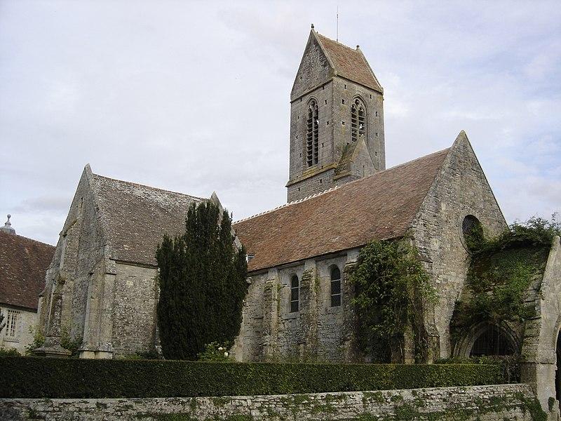 Photo du Monument Historique Ancienne église de Brécy situé à Saint-Gabriel-Brécy