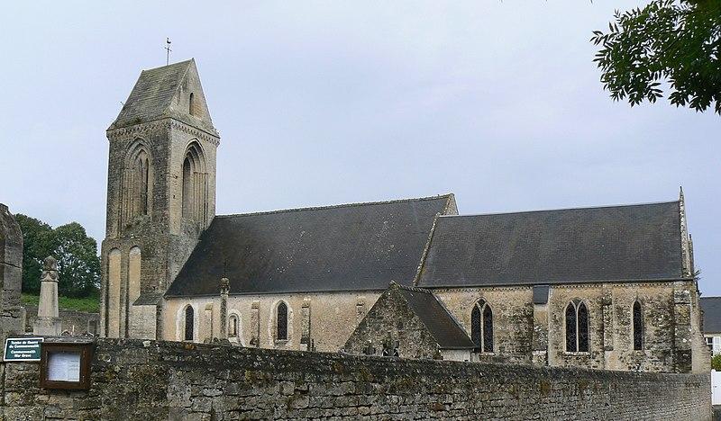 Photo du Monument Historique Eglise situé à Sainte-Honorine-des-Pertes