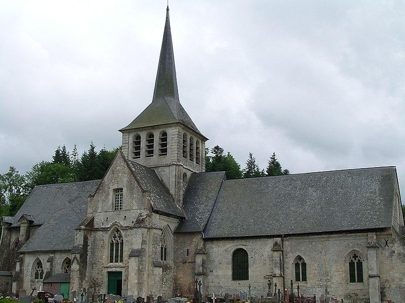 Photo du Monument Historique Eglise situé à Saint-Hymer