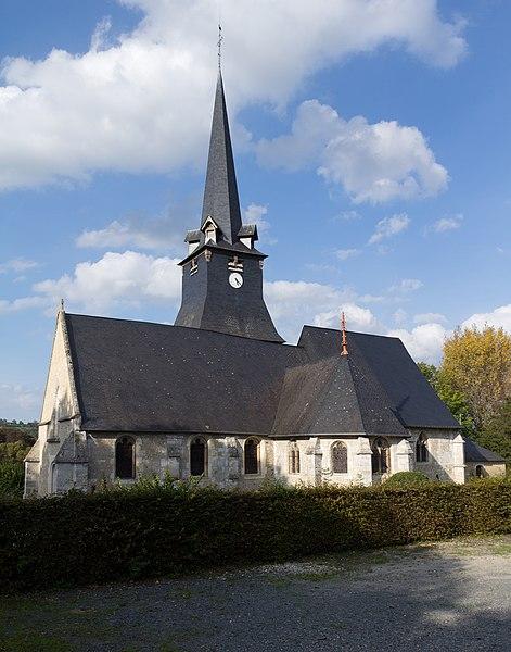 Photo du Monument Historique Eglise situé à Saint-Julien-sur-Calonne