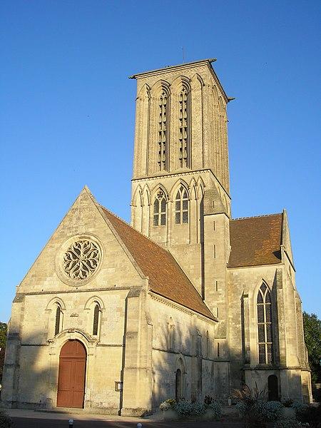 Photo du Monument Historique Eglise de Norrey-en-Bessin situé à Saint-Manvieu-Norrey