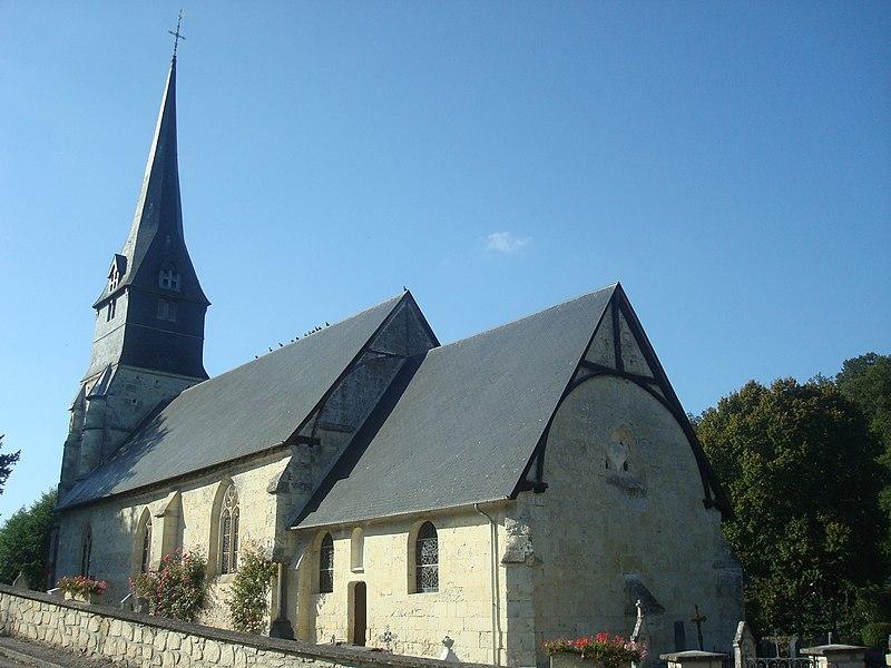 Photo du Monument Historique Eglise situé à Sainte-Marguerite-des-Loges
