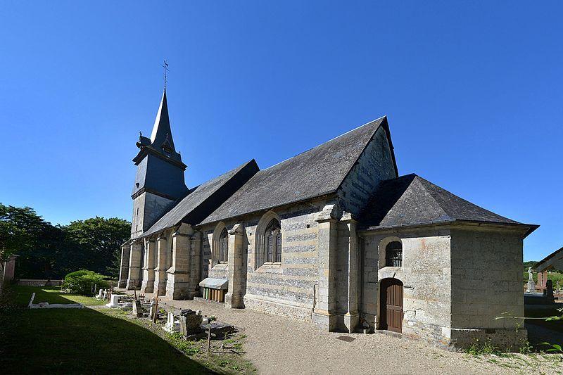 Photo du Monument Historique Eglise de Saint-Martin-de-Bienfaite situé à Saint-Martin-de-Bienfaite-la-Cressonnière