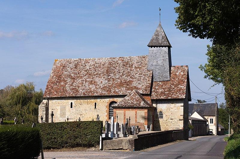Photo du Monument Historique Eglise situé à Saint-Martin-de-la-Lieue